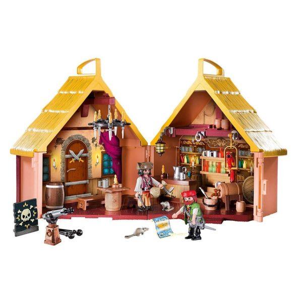 Playmobil Pirates 9112 Hordozható kalóz pub