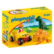 Playmobil 1-2-3 9120 Dino kutató quad