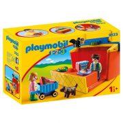 Playmobil 1-2-3 9123 Hordozható kis piac