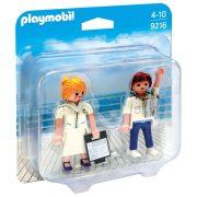 Playmobil Duo Pack 9216 Utaskísérõ és elsõ tiszt