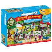 Playmobil Adventi naptár 9262 Lovas Farm