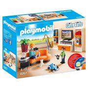 Playmobil City Life 9267 Élet a nappaliban