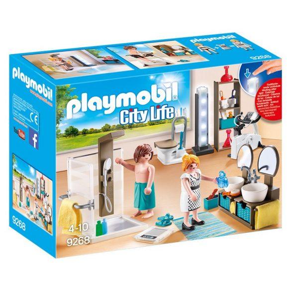 Playmobil City Life 9268 Anya és apa a fürdőszobában