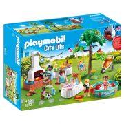 Playmobil City Life 9272 Kerti parti