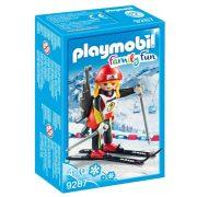 Playmobil Family Fun 9287 Biatlonos nő