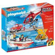 Playmobil City Action 9319 Tűzoltó mentőakció