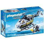 Playmobil City Action 9363 Speciális Egység helikoptere (SWAT helikopter)