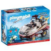 Playmobil City Action 9364 Kétéltű kocsi víz alatti motorral