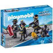 Playmobil City Action 9365 Speciális Egység kommandós figurák