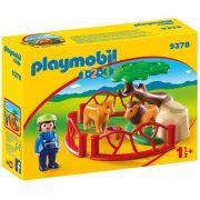 Playmobil 1-2-3 9378 Oroszlánkert kicsiknek
