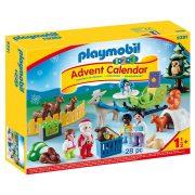 Playmobil 1-2-3 Adventi naptár 9391 Erdei karácsony