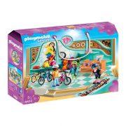Playmobil City Life 9402 Gördeszka- és bringabolt