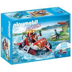 Playmobil Action 9435 Légpárnás csónak víz alatti motorral 0c764f44f2