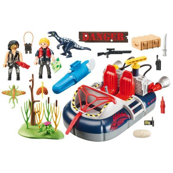 Playmobil Action 9435 Légpárnás csónak víz alatti motorral