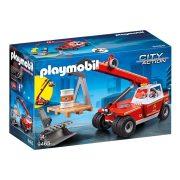 Playmobil City Action 9465 Tűzoltó daruskocsi