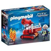 Playmobil City Action 9467 Lánctalpas tűzoltóágyú