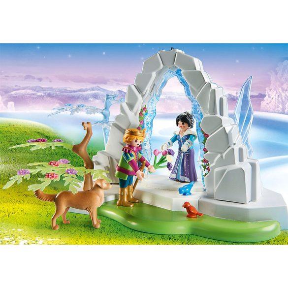 Playmobil Magic 9471 Kristálykapu a téli világba