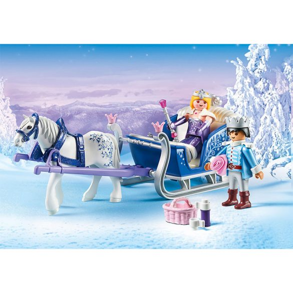 Playmobil Magic 9474 A királyi pár téli hintója