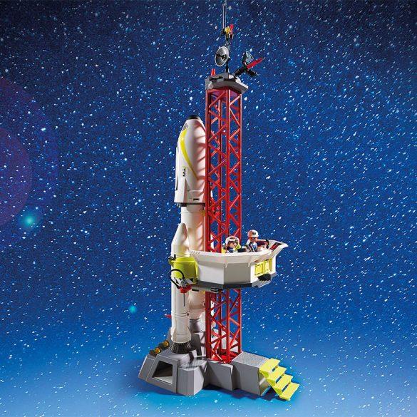 Playmobil Space 9488 Mars-rakéta a kilövõálláson