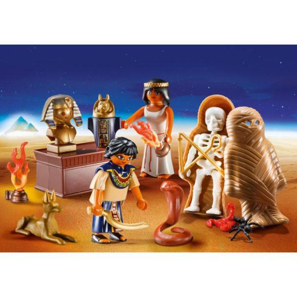 Playmobil History 9542 Rejtélyes Egyiptom hordozható játékszett