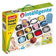 Quercetti Smart Mágneses puzzle - Első szavak és színek (13db-os)