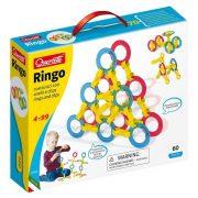 Quercetti Ringo - Karikás építőjáték (60db-os)