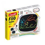 Quercetti Filó Tablet Basic fonalrajzoló készlet (60 db-os)