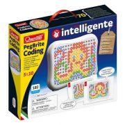 Quercetti Peg Brite kódolás - fejlesztő játék fényekkel (182 db-os)