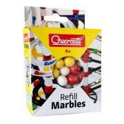 Quercetti Refill Marbles 100 db-os utántöltõ golyópályához