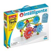 Quercetti Georello Tech építőjáték kezdő készlet (100db-os)