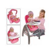 Baby Rose 3 az 1-ben etetõszék babával