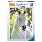 Ravensburger 14726 puzzle - Fehér kanca (500 db)