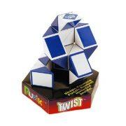Rubik Twist (kék-fehér)