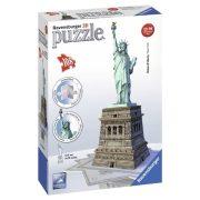 Ravensburger 12584 3D puzzle - Szabadság szobor (108 db-os)