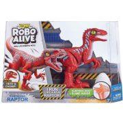 Robo Alive robot állatok - Támadó Raptor (Piros)