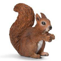 Schleich Wild Life Forest 14684 Táplálkozó mókus (XS)