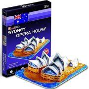 CubicFun S3001H 3D mini puzzle - Sydney-i Operaház (30 db-os)