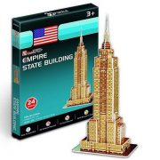 CubicFun S3003H 3D mini puzzle - Empire State Building (24 db-os)