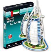 CubicFun S3007H 3D mini puzzle - Burdzs al-Arab (17 db-os)