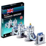 CubicFun S3010H 3D mini puzzle - Tower Bridge (32 db-os)
