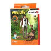 Schleich Wild Life 42353 Állatorvos bevetésen