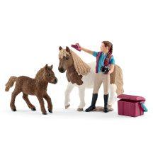 Schleich Horse Club 42362 - Lóápoló shettykkel