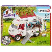 Schleich Horse Club 42370 Mobil állatorvos hannoveri csikóval