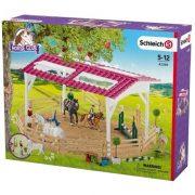 Schleich Horse Club 42389 Lovaglóiskola lovas lányokkal és lovakkal