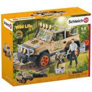 Schleich Wild Life 42410 Terepjáró csörlővel