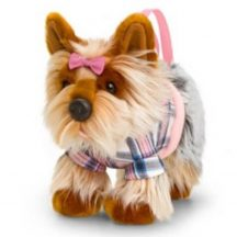 Kutyusok táskában plüss figura 30 cm