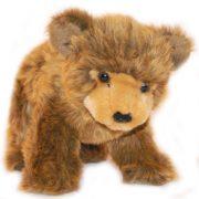 Grizzly medve plüss figura 23 cm