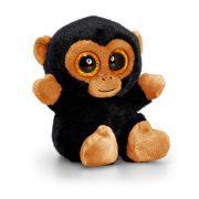 Animotsu MORRIS - fekete majom plüss figura 15 cm