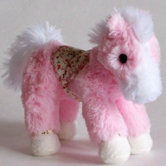 Belle Rose ló 20cm rózsaszín