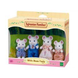Sylvanian Families Fehér egér család